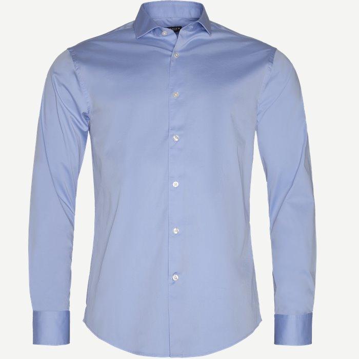 Farrel5 Skjorte - Skjorter - Slim - Blå